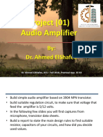 Practical App in EE 03 - Lecture 01 - Project 01