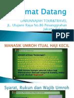 Manasik Umroh Maret 2019