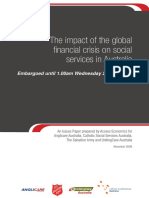 2008 11 Impact of Gfc on Social Services