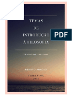 SILVA, Renato Araujo Da.Temas.de.Introdução.a.Filosofia. 2016