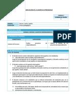 PLAN DE SESION DE CLASE DE EPT