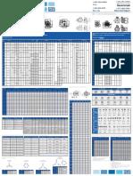 WEG Nema Standard Dimensions Poster Nemaposter Brochure English
