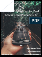 WhitePaper 5G User Registration for Dual Access Dual Connectivity March2019