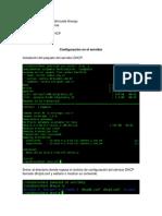 Actividad 4 Servidor DHCP