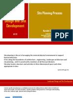 Site Planning Process