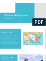 the westward expansion  1