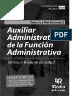 Temario y Test Volumen 2. Auxiliar Administrativo de la Función Administrativa Servicio Riojano de Salud [2016] [Rodio] [SuAwDQAAQBAJ(277)].pdf