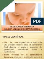Estimulacion Temprana en Niños Menores de 1 Año