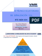 Reglamento Senializacion Vial