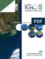 Un Tema Costero Por La Asociación IGOS Para La Vigilancia Del Medio Ambiente Desde El Espacio y Desde Tierra
