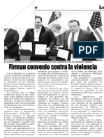 05-03-19 Firman convenio contra la violencia