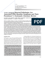 What Imaging-Detected Pathologies Are