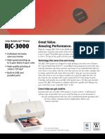 BJC 3000 Spec