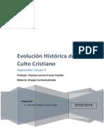 Expo.c2.Evolución Histórica Del Culto Cristiano