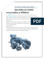 Motores e Instalacion Electrica