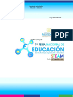 Formato Informe Del Proyecto STEAM
