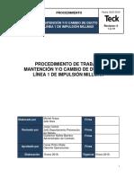 53-Proc-p Mantencion y.o Cambio de Ducto de Linea 1 de Impulsion Millmax