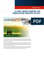 TECHNOLOGY AND TRENDS SHAPING THE AGRICULTURE INDUSTRY - Case Study