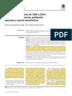 Desastres en Mexico de 1900 a 2016 Patrones de Ocurrencia, Poblacion Afectada y Daños Economicos_2017