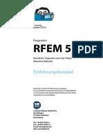 Programm RFEM 5 Räumliche Tragwerke nach der Finiten Elemente Methode