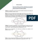 Teoría de Redes Investigacion de Operaciones II