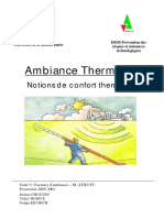 Ambiance Thermique