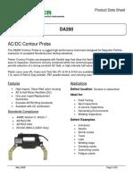 DA200 Product Data Sheet