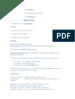 ADVERBIOS Y FORMAS ADVERBIALES