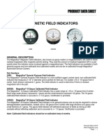 Magnetic Field Indicators Product Data Sheet English
