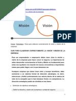 Guía para elaborar correctamente la visión y misión de la empresa.docx