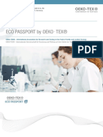 Eco-passport Application 2018
