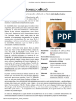 John Adams (Compositor) - Wikipedia, La Enciclopedia Libre