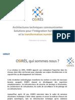 Presentation OSIRES 2014