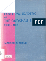 Mahesh_C_Regmi_Kings and Political Leaders of the Gorkhali Empire