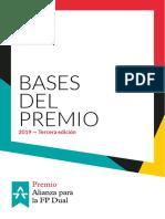 Bases III Premio Alianza Para La FP Dual