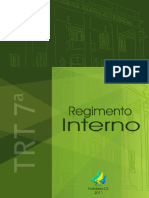 Regimento Interno TRT 7