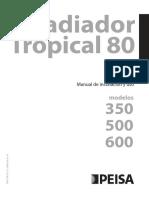 Manual Radiador Tropical