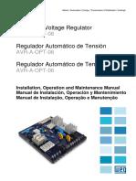 WEG Regulador Automatico de Tensao