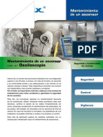Osciloscopio Metrix, Mantenimiento de Ascensor