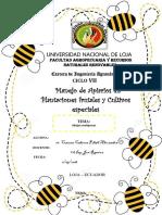 Manejo de Apiarios de Abejas Meliponas en La Zona Sur Del Ecuador