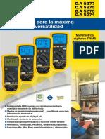 Manul de Multimetro AEMC