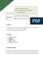 Lab 06 Capacitancia Serie y Paralelo GUIA