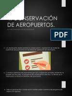 Sistemas Aeroportuarios 4.5 Recomendaciones Generales