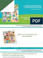Proyectos de Aprendizaje en Educación Inicial