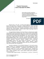 Nugroho Notosusanto Di Antara Baju Sipil Dan Militer