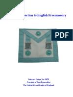 Intro English Freemasonry