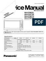 NN-ST657 Service Manual