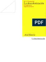 Chamberlain, M. E. - La descolonizacion. La caida de los imperios europeos [1997].pdf