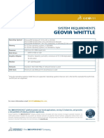 GEOVIA Whittle 4.7.1 SystemRequirements
