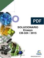 Solucionario CB-324 2015(Quimica)